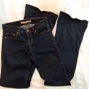 J Brand Babe Starless Flare Denim Jeans Size 24